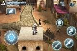 Assassin's Creed: Altaïr's Chronicles iPhone Your target has that skull just over his head. You'd think he'd notice.