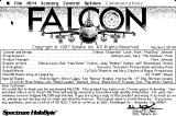 Falcon Macintosh Version / info