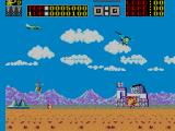 Choplifter! SEGA Master System in the midst of battle
