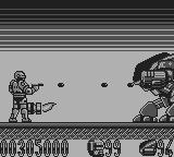 RoboCop 2 Game Boy Boss fight