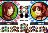 The King of Fighters XI PlayStation 2 Character selection