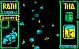 Rath-Tha Amstrad CPC It looks like a space battle, but it's a tube.