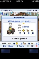 Game Dev Story iPhone Yes! Stop judging my idea and get back to work!