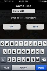 Game Dev Story iPhone What's in a name?