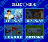 Super Batter Up SNES Game modes