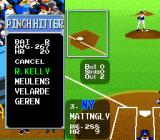 Super Batter Up SNES Selecting a pinch hitter