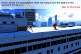 Mirror's Edge iPhone In indoor locations, the save points are cameras.