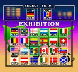 Goal! SNES Select a team
