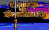 Spirit of Excalibur Atari ST Title screen