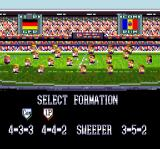 Goal! SNES Select a formation