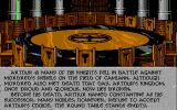Spirit of Excalibur Atari ST The background story