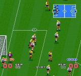 Goal! SNES It's crowded in front of the net