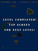 Pacific Wings Android Level completed
