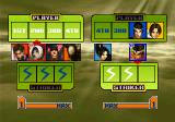 The King of Fighters 2001 PlayStation 2 Setting the battle order.