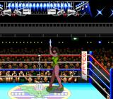TKO Super Championship Boxing  SNES The ring girl making her rounds