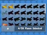 MiniSquadron Android 56 planes are available, although I have only unlocked a few