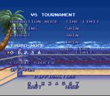 Ultimate Fighter SNES VS. Tournament options