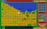 Vulcan: The Tunisian Campaign Atari ST Giving orders to Allied unit near Bone