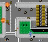 Twin Cobra NES Destroying a city