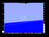 Jet DOS About to engage in a dogfight over the ocean (CGA with composite monitor)