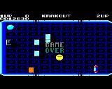 Krakout BBC Micro Game Over