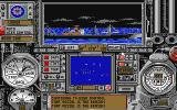 WolfPack Atari ST View of convoy ships from Destroyer escorts