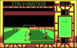 International Soccer Challenge DOS In game (CGA)