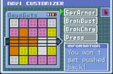 Mega Man Battle Network 3: White Version Game Boy Advance The epic Navi customiser. You can increase the performances of Mega Man by programming it.