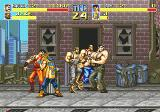 Final Fight SEGA CD Four on Two