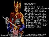 Heroes of the Lance SEGA Master System Caramon