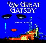 The Great Gatsby Browser Title Screen