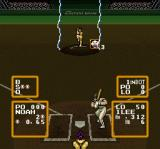 Super Baseball Simulator 1.000 SNES Lightning helps the pitcher