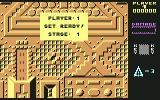 Zyron Commodore 64 Start of the first planet