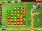 Little Farm Windows My field with pumpkins. I also have a well that will double my water (and harvest) for one match, if I make enough matches.