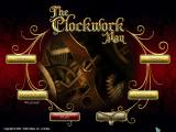 The Clockwork Man Macintosh Main menu