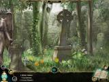The Clockwork Man: The Hidden World Macintosh Scrolling Scene right - Parents Cemetery