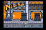 Mega Man: Anniversary Collection GameCube Main menu.
