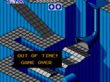 Marble Madness SEGA Master System Game Over