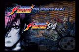The King of Fighters Collection: The Orochi Saga Wii Main game select screen.