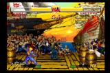 Samurai Shodown Anthology Wii All Showdown games zoom out as characters move apart.