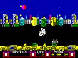 The Arc of Yesod ZX Spectrum Jumping looks rather artistic in this game.