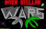 Inter-Stellar Wars DOS The game's title screen