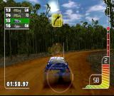 Colin McRae Rally PlayStation Light and dust effects look very good