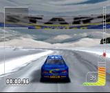 Colin McRae Rally PlayStation We're in Sweden, there's a lot of snow & ice here