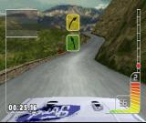 Colin McRae Rally PlayStation It's a bit scary to maintain high speed here
