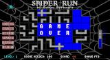 Spider Run DOS Helpful confirmation that this game is, indeed, over.