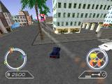 Auto Destruct PlayStation This mission involves escorting the Mayor to safety. Not easy with Lazarus' cars and choppers chasing you, and the Mayor's driver trying his best to leave you behind.