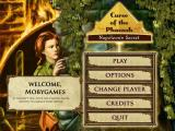 Curse of the Pharaoh: Napoleon's Secret Macintosh Title / main menu