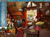 Christmasville Macintosh Cabin Bedroom - hidden objects
