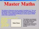 Master Maths Windows The game's load screen